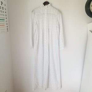 VTG B by Barad Modest Button Nightgown